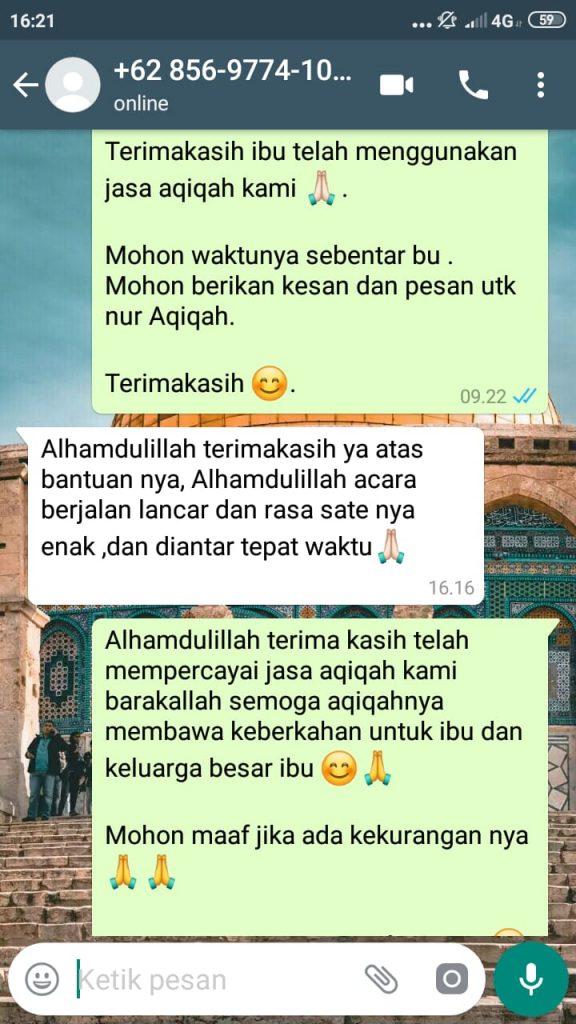 Catering Aqiqah di Bekasi Timur murah