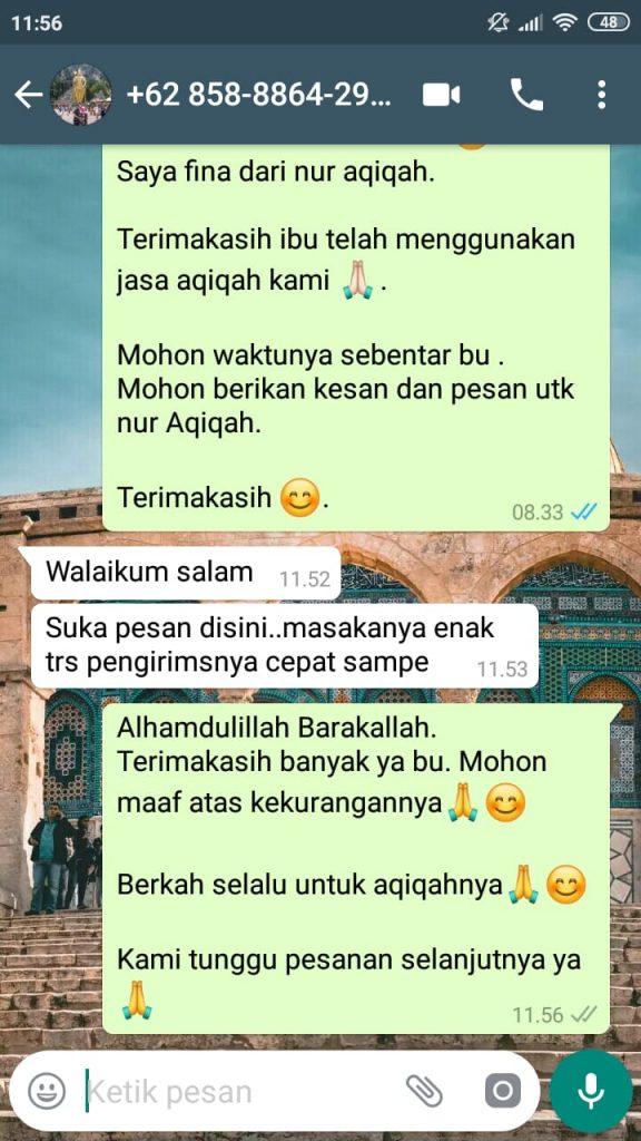 Jasa Akikah di Bekasi Murah